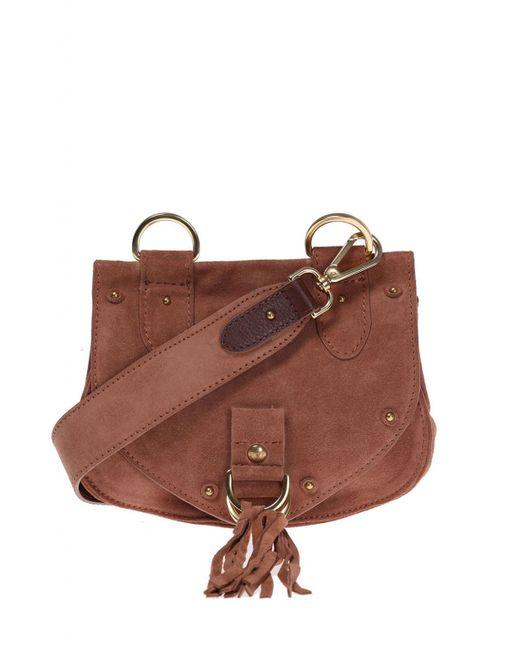 See By Chloé - Pink 'collins' Shoulder Bag - Lyst