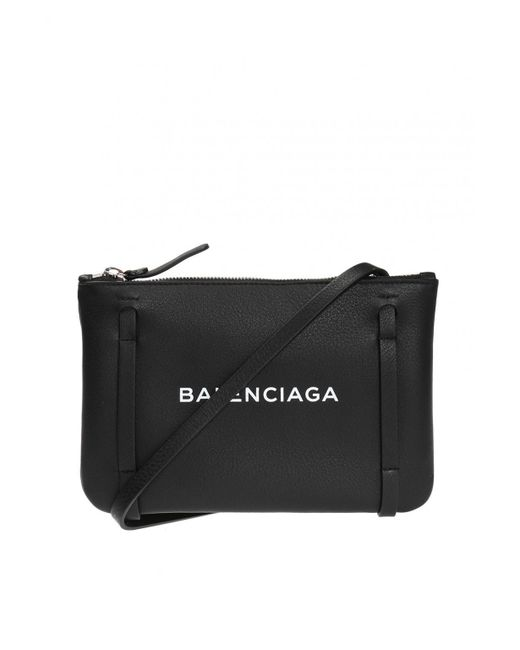 Balenciaga - Black 'everyday Pouch' Shoulder Bag - Lyst