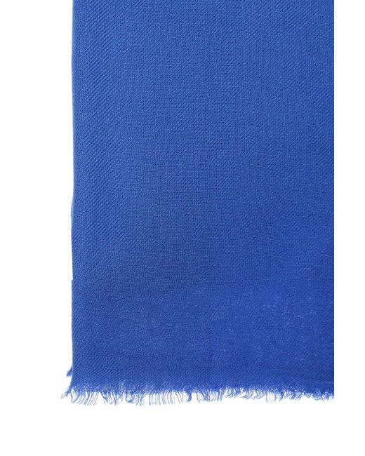 Écharpe Frangée - Isabel Marant Bleu wzkYZazC
