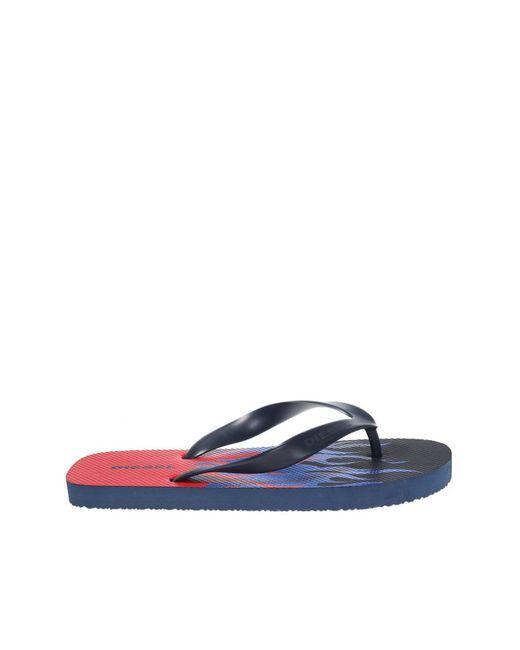 5906fc742394b Lyst - DIESEL  sa-nihhao  Flip-flops in Blue for Men