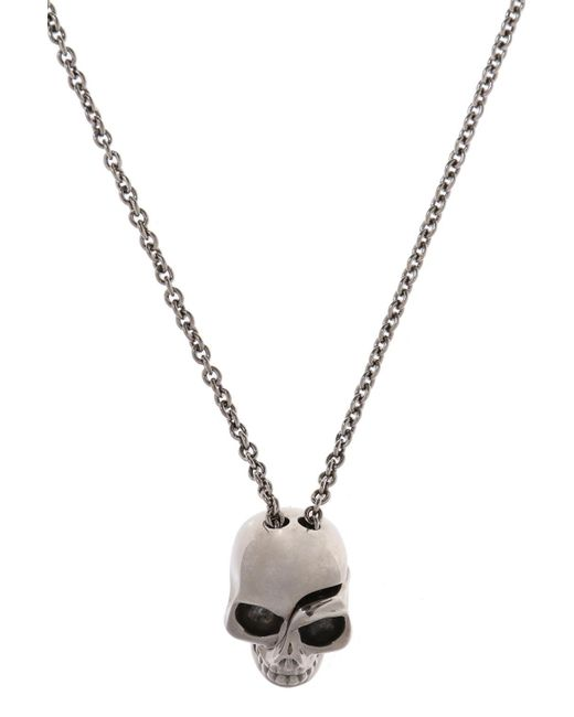Alexander McQueen - Metallic Necklace With Charms for Men - Lyst