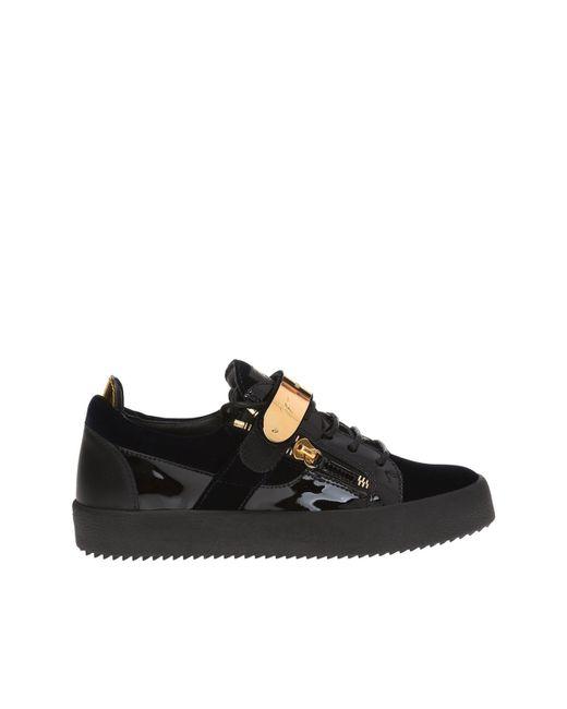 58124bfc1aa Giuseppe Zanotti - Black  tylon  Sneakers for Men - Lyst ...