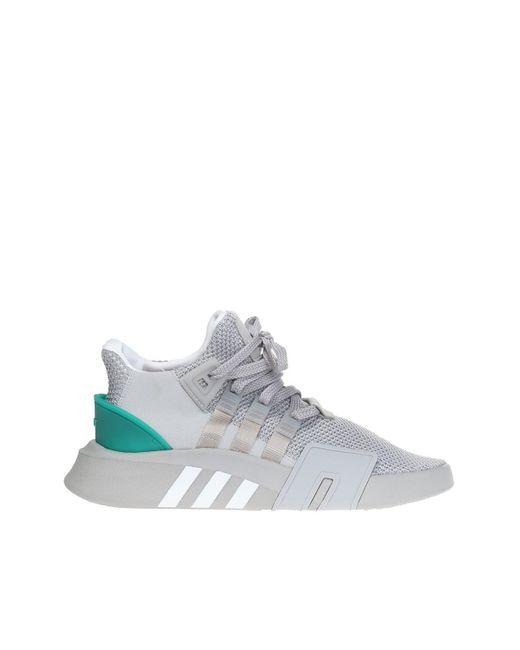 big sale d8927 1f019 Adidas Originals - Gray Eqt Bask Adv Sport Shoes for Men - Lyst ...