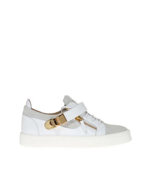 Giuseppe Zanotti - White 'carter' Sneakers for Men - Lyst