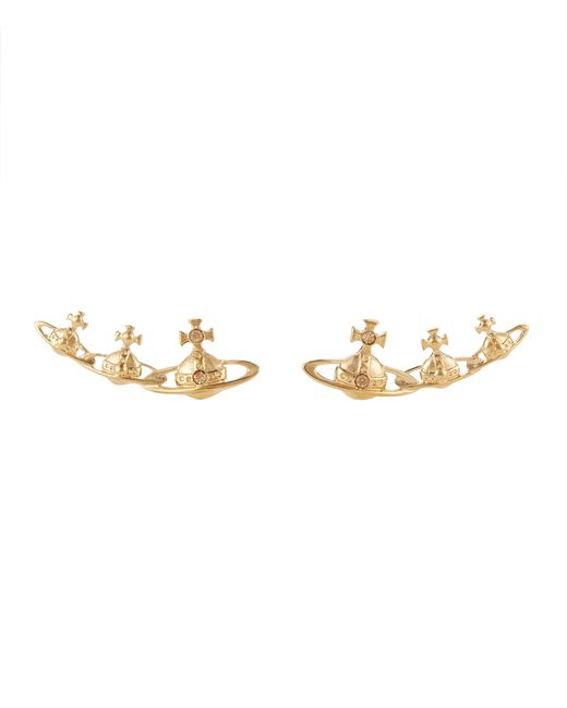 Vivienne Westwood | Metallic Candy Earrings Light Topaz | Lyst