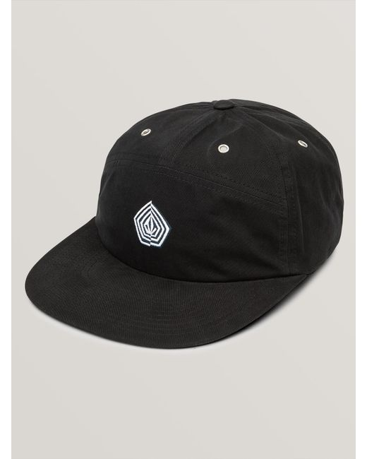 7c215fbd793 Lyst - Volcom Noa Stone Strapback Hat in Black for Men - Save 23%