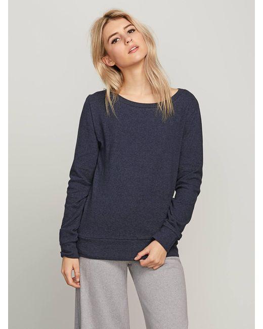 Volcom - Blue Lil Crew Sweatshirt - Lyst