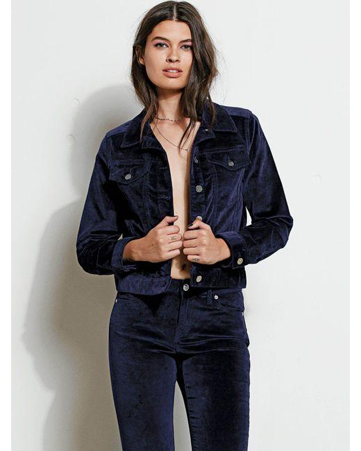 L Blue In Indigo Jacket Lyst Iqzwf Gmj Velvet Volcom wqXOwxRU