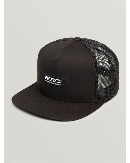 9c885b5f Lyst - Volcom Trapezoid Cheese Hat in Black for Men