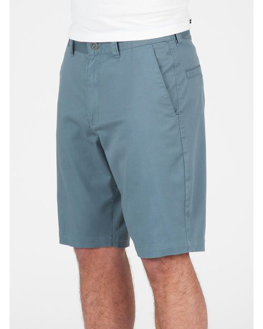 Volcom | Blue Men's Frickin Mod Stretch Shorts for Men | Lyst