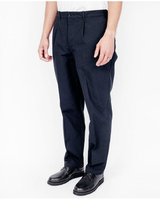 Still By Hand | Blue Hard Canvas Pants / Navy for Men | Lyst