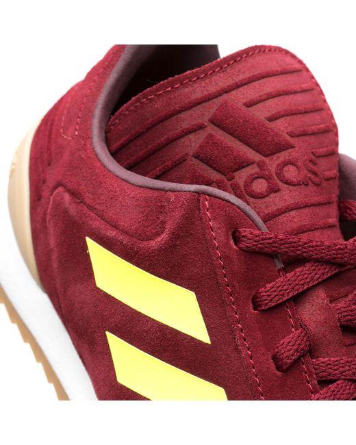 uk availability c64f3 f998c ... Gosha Rubchinskiy - Red Copa Super Adidas for Men - Lyst ...