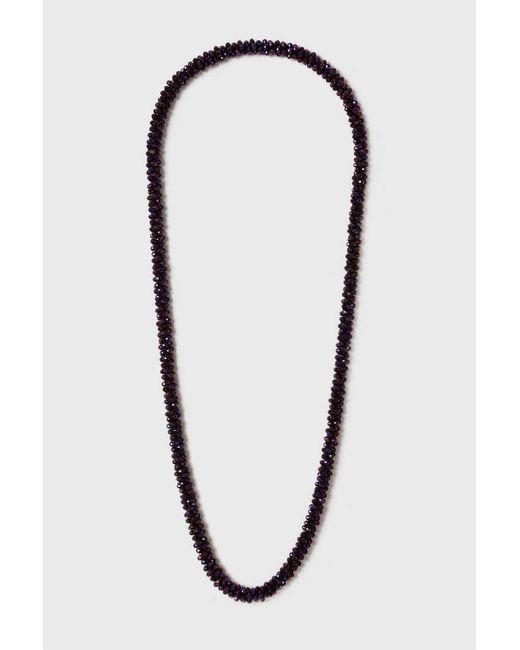 Wallis | Purple Long Facet Necklace | Lyst