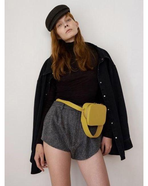 DEMERIEL - Multicolor Belt Bag Dark Butter - Lyst