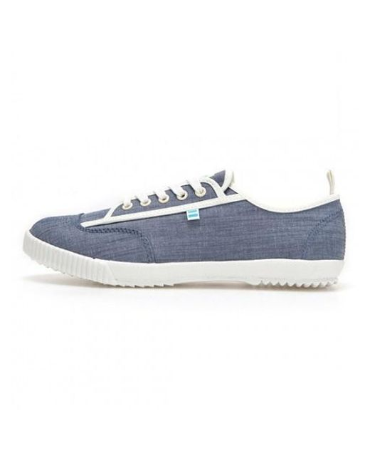 Feiyue | Men Solid And Striped X Fe Lo / Blue Chambray / for Men | Lyst