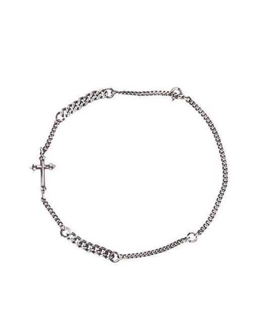 W Concept - Metallic Antique Cross Bracelet - Lyst