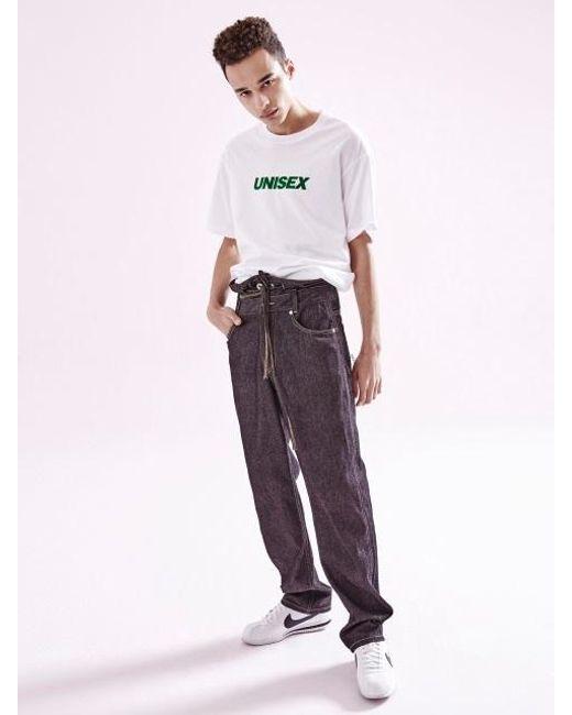 NOHANT - Unisex T Shirt White for Men - Lyst