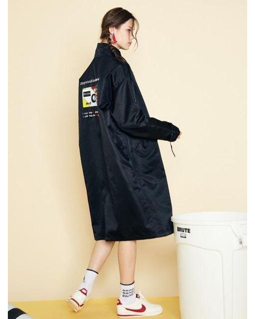 W Concept | Blue [unisex] Sd Field Jacket-black | Lyst