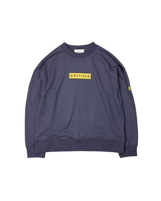W Concept - Gray Grafikus Box Logo Slate Grey for Men - Lyst