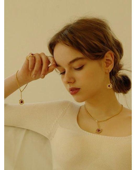 FLOWOOM - Metallic Orbit Bracelet Gold - Lyst