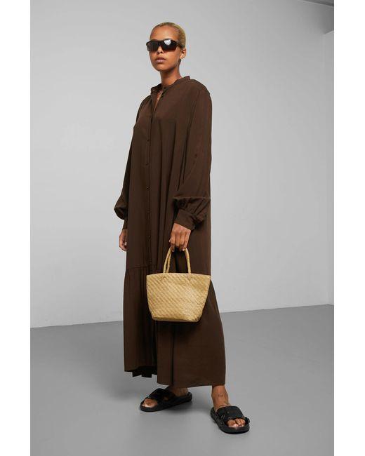 Weekday Brown Helga Dress