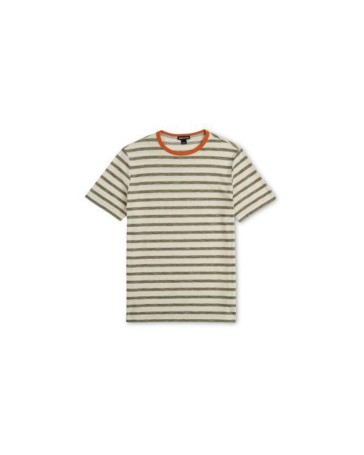 Whistles   Multicolor Herringbone Stripe T-shirt for Men   Lyst