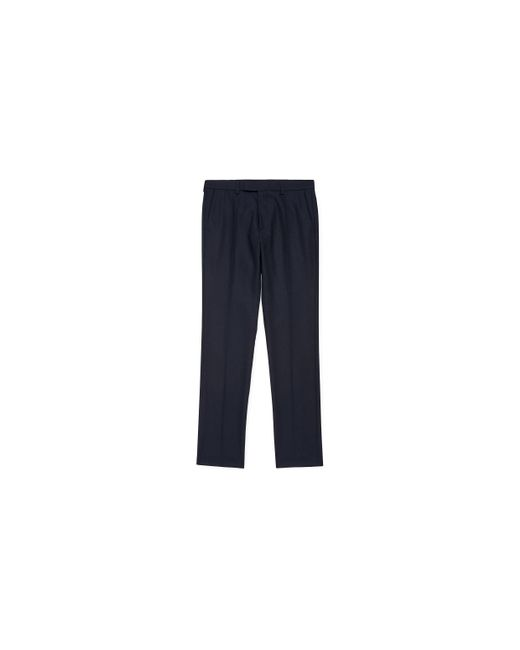Whistles | Blue Slim-fit Twill Trousers for Men | Lyst