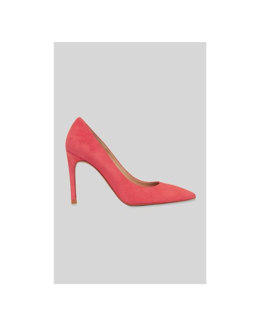 Whistles - Pink Cornel Suede Point Pump - Lyst
