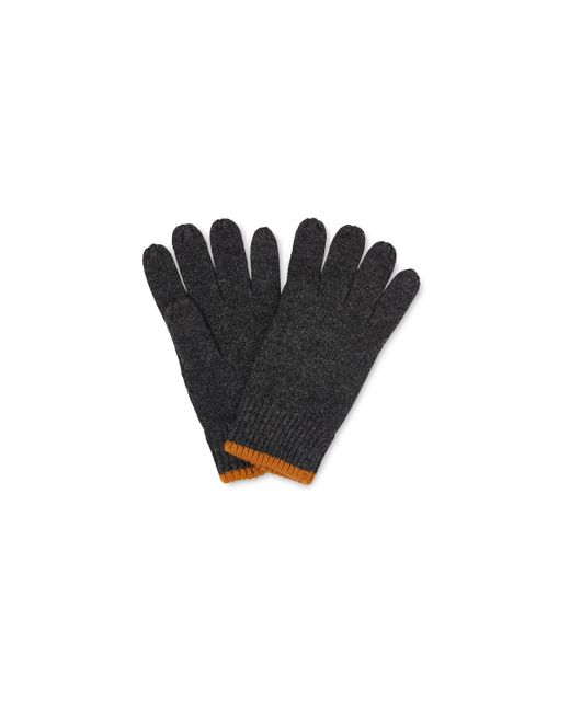 Whistles - Gray Knitted Gloves - Lyst