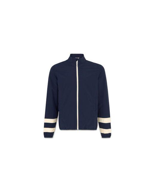 Whistles - Blue Funnel Neck Jacket for Men - Lyst