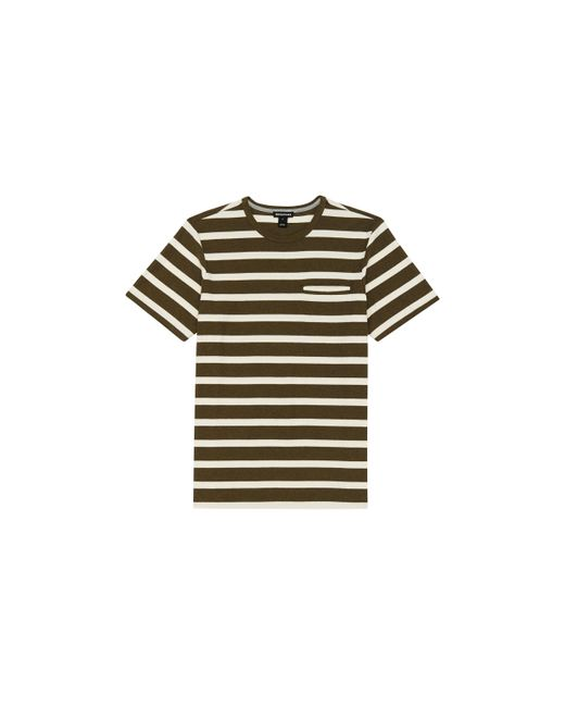Whistles | Natural Wide Stripe T-shirt for Men | Lyst