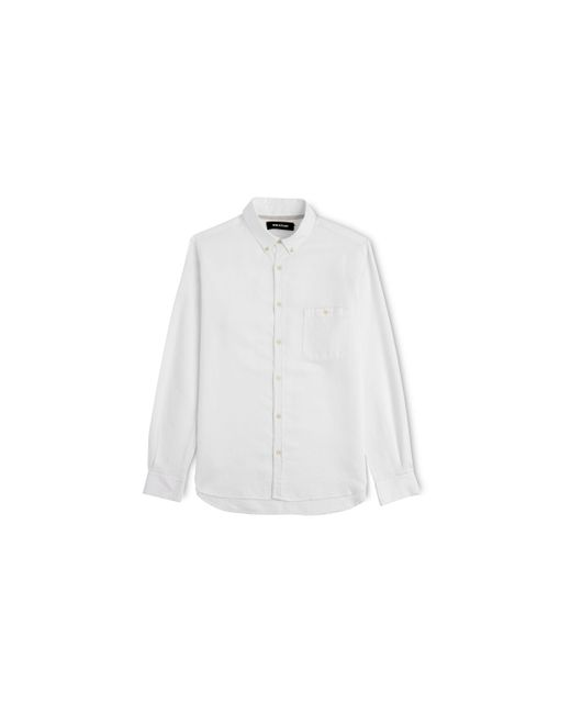 Whistles | White Stripe Weave Shirt for Men | Lyst