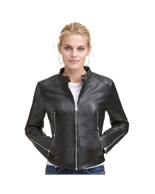 Wilsons Leather - Black Designer Brand Classic Genuine Leather Scuba Jacket - Lyst