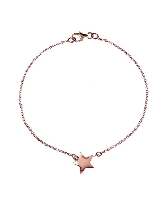 Latelita London - Metallic Cosmic Star Bracelet Rosegold - Lyst