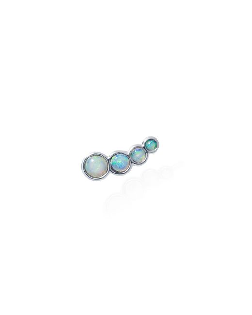 Lee Renee - Blue Opal Slider Mono Earring Left Ear - Lyst
