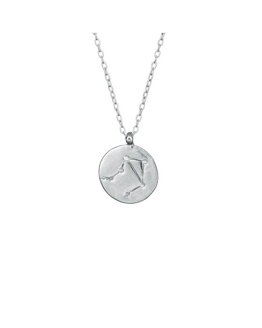Chupi - Metallic Libra We Are All Made Of Stars Star Sign Necklace In Silver - Lyst
