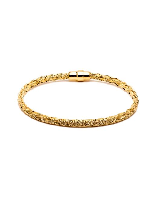 Durrah Jewelry | Metallic Gold Woven Bracelet For Her | Lyst