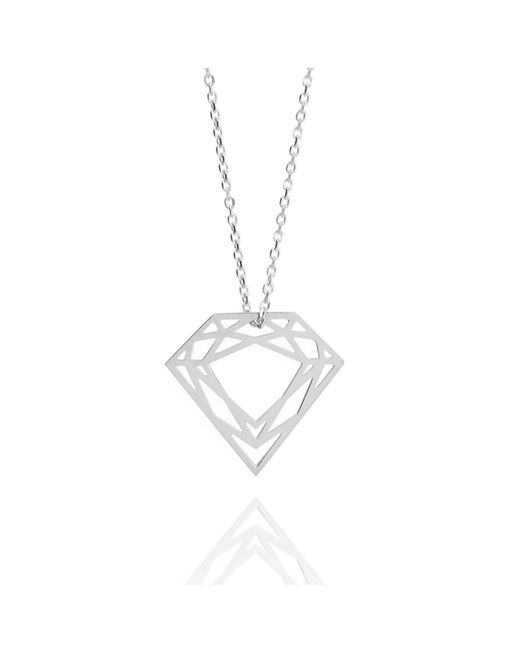 Myia Bonner - Metallic Silver Classic Diamond Necklace - Lyst