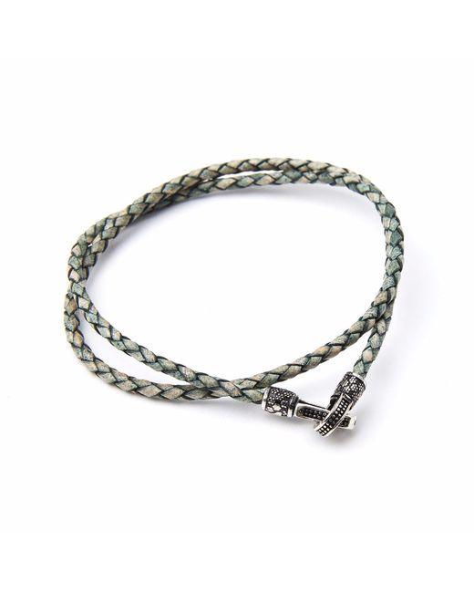 4Fellas | Metallic Eclipse Green Bracelet for Men | Lyst
