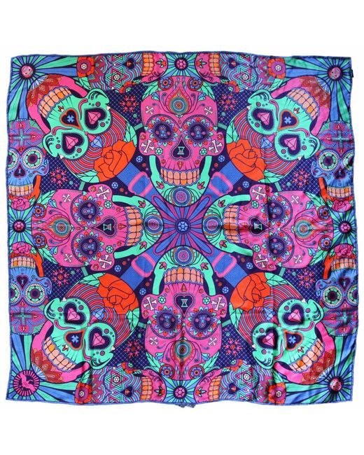 Furious Goose | Multicolor We're All Going To Die, Pucci Large Silk Scarf | Lyst