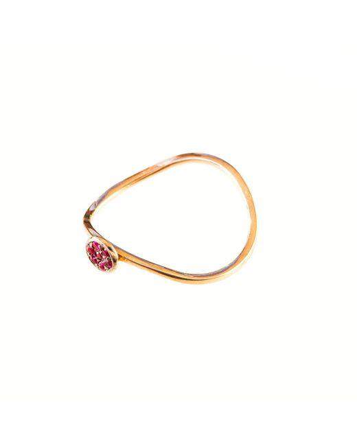Sadekar Jewellery   Metallic Ruby Pave Ring   Lyst