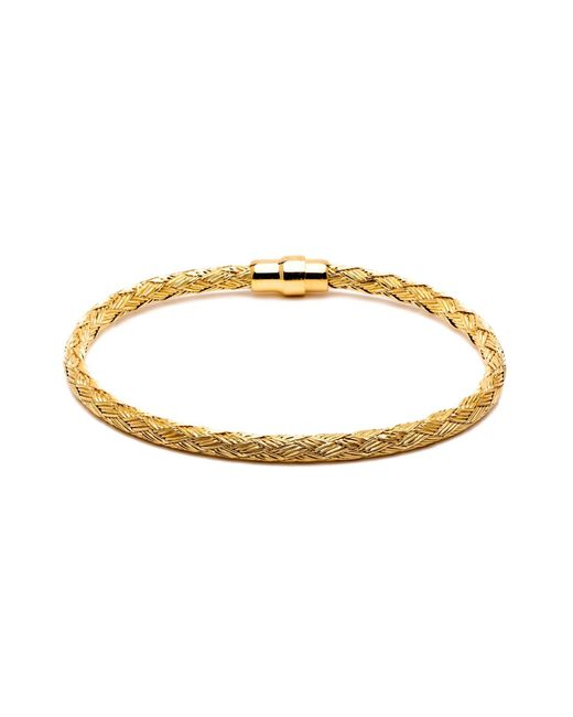 Durrah Jewelry   Metallic Gold Woven Bracelet For Her   Lyst