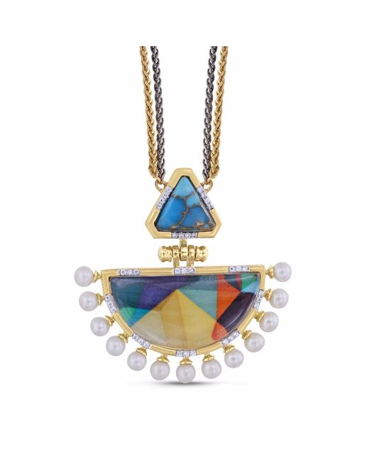 LMJ   Blue My Colorful Legacy Necklace   Lyst