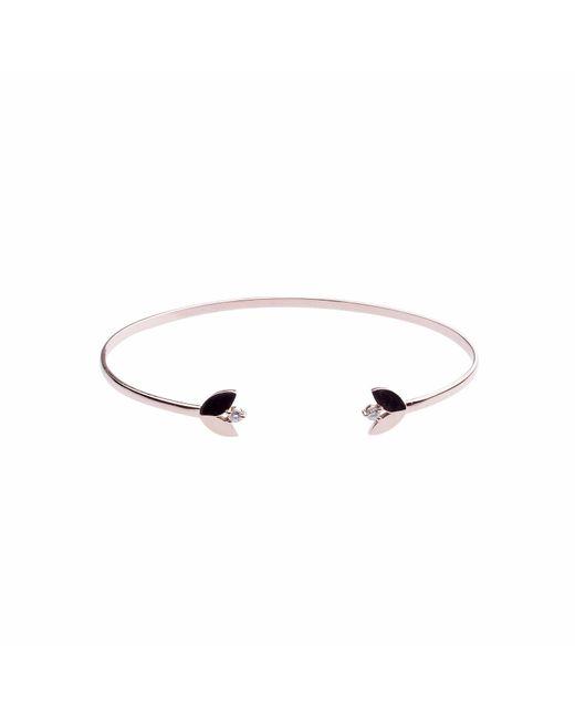 Sadekar Jewellery   Multicolor White Diamond Flower Bracelet   Lyst