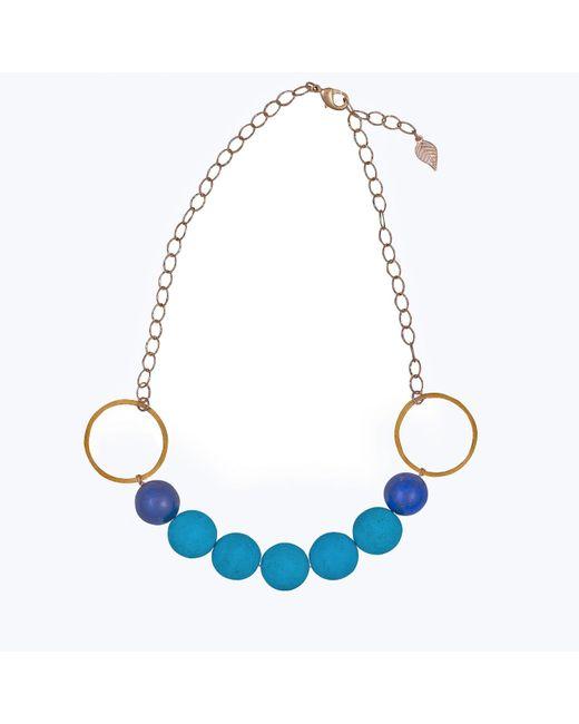 Magpie Rose | Blue Turquoise & Lapis Luzuli Necklace | Lyst