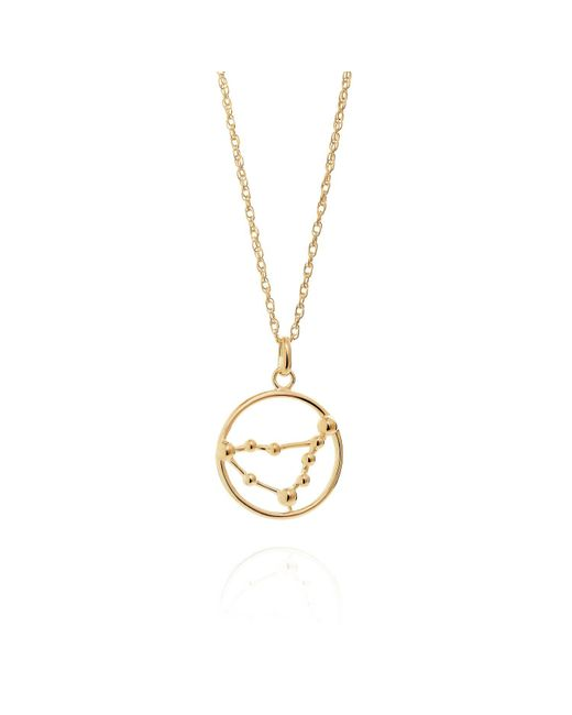 Yasmin Everley Jewellery - Metallic Capricorn Astrology Necklace In 9ct Gold - Lyst