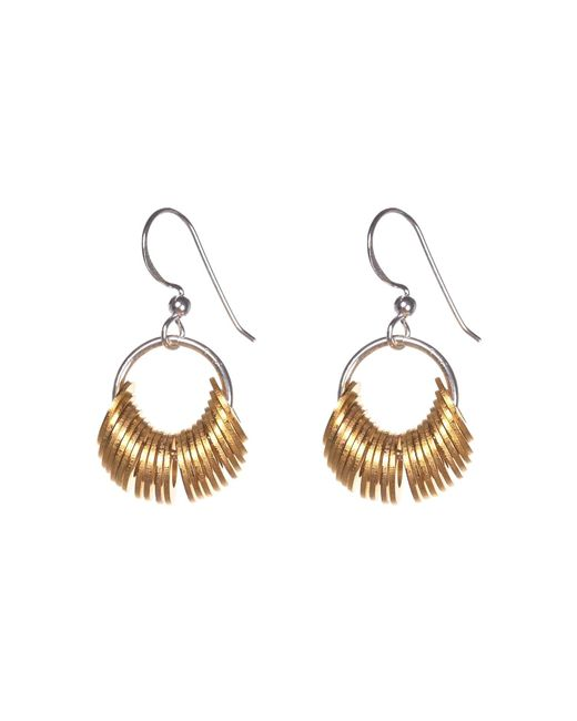 Alice Menter | Metallic Lexi Earrings | Lyst