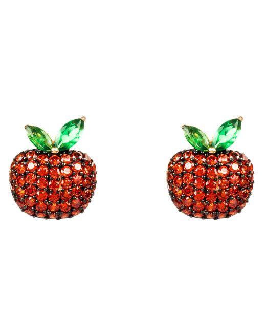 Latelita London | The Forbidden Apple Earring Red | Lyst