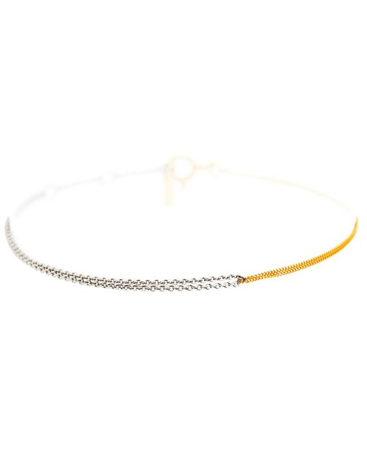 Dutch Basics - Metallic Interlinked Chain Bracelet Gold - Lyst