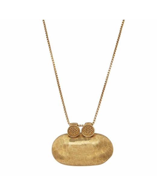 Carousel Jewels - Metallic Antique Textured Trinket Pendant - Lyst
